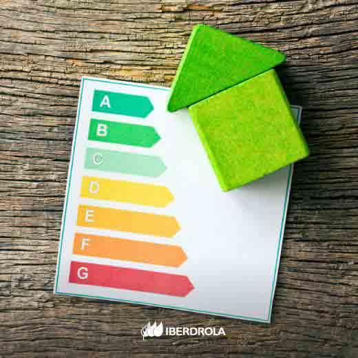 Consumo de electricidad eficiente.