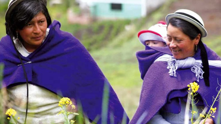 Comunidad Indígena Ecuatoriana.