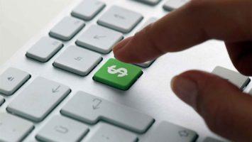 Banca promociona dinero digital.