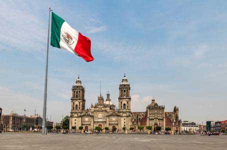 Zócalo, Ciudad de México.