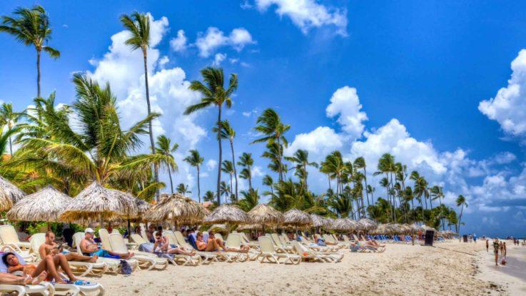 Una de las playas de República Dominicana.