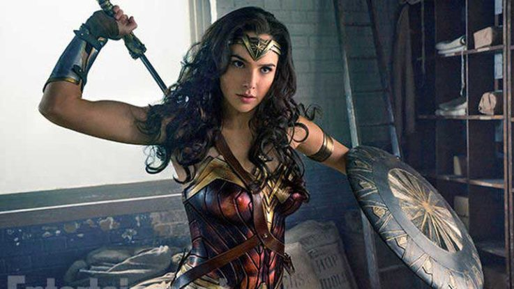 Gal Gadot, actriz que interpreta a Wonder Woman.