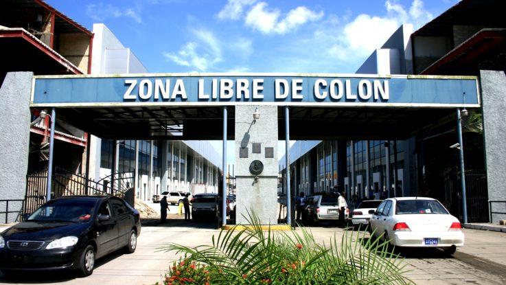 Zona libre Colón, Panamá.