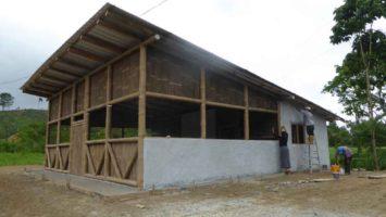 La casa para mujeres creada por Mensajeros de la Paz en Ecuador.
