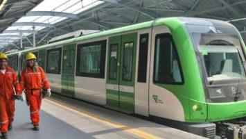 Empleados del metro Lima, Perú.