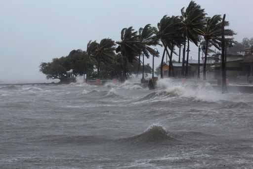 Efectos del huracan Irma.