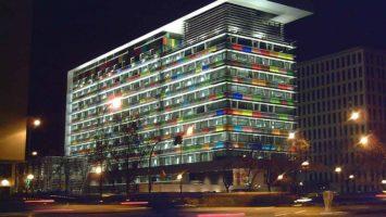 La sede del Instituto Nacional de Estadística (INE) en Madrid.