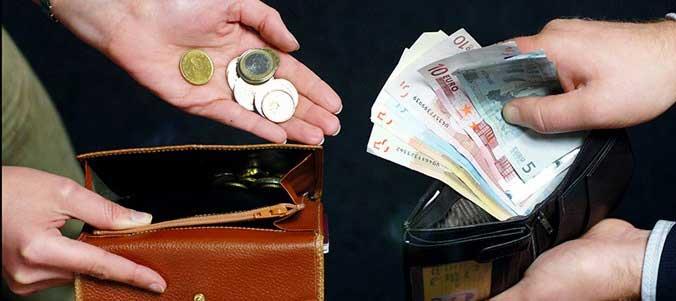 Presiones para lograr aumento de salarios.