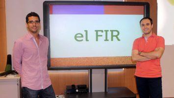 Álvaro González Rocafort y Javier Arteaga director y coordinador de AFIR.