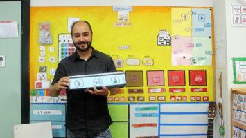 Andrés Collazos Díaz, creador de 'Resetea' (Reloj de Secuencias Temporales de Apoyo) y profesor de Educación Especial.