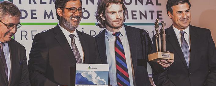 La española Acciona recibe el Premio Nacional de Medio Ambiente.