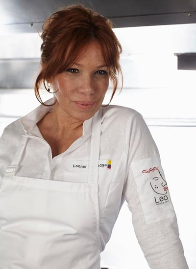 Leonor Espinosa, chef colombiana.