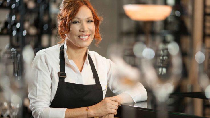 Leonor Espinosa, ganadora del Latin America's Best Female Chef 2017'.