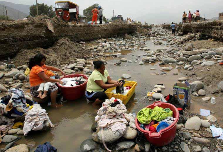 Inundaciones en Perú 2017.