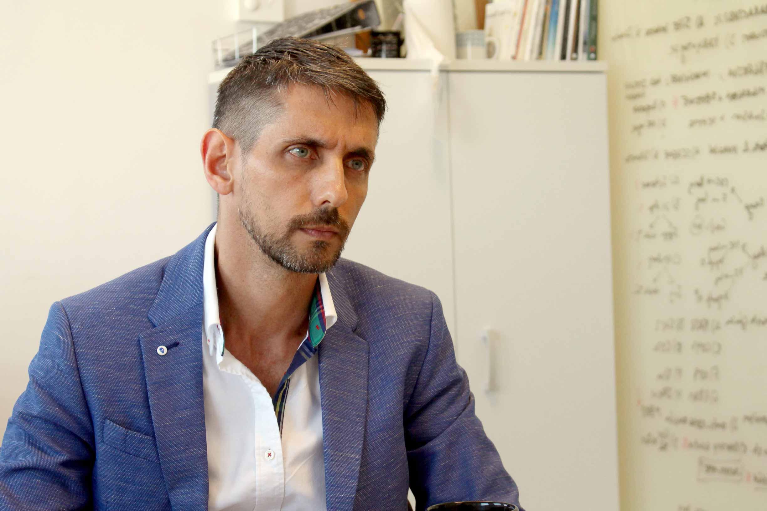 Eduardo López-Collazo, contandonos sus claves del éxito.