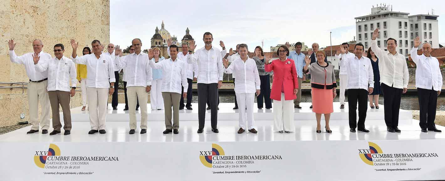 Cumbre Iberoamericana Cartagena 2016.