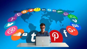 El uso de redes sociales en América Latina.