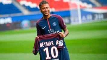 Futbolista brasileño, Neymar.