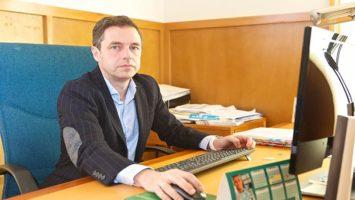 El vicerrector de la Universidad de Alicante, Enrique Herrero.
