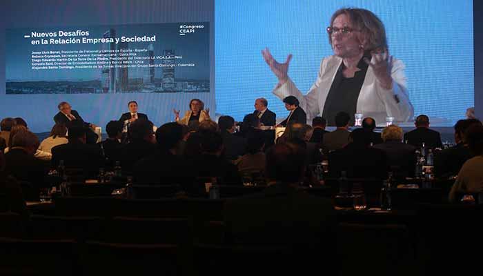 Las conclusiones de la mesa 'Nuevos desafíos en la Relación Empresa y Sociedad'.