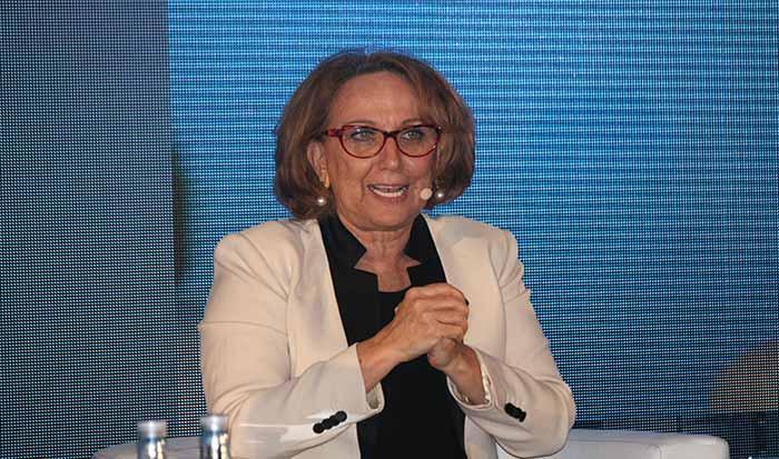 Rebeca Grynspan, secretaria general Iberoamericana durante el Congreso organizado por Ceapi.