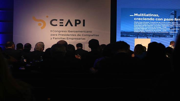 Aspecto de la sala durante la segunda jornada del I Congreso Ceapi.