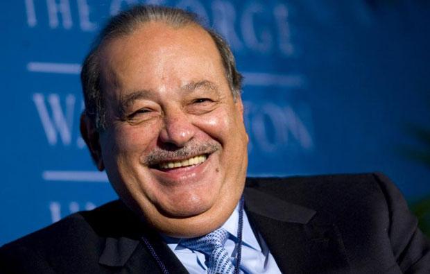 Empresario mexicano, Carlos Slim.