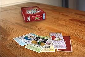 Tarjetas del juego de mesa Nosocomio .