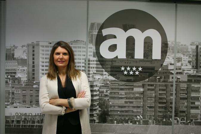 La presidenta de AvalMarid, Rosario Rey.