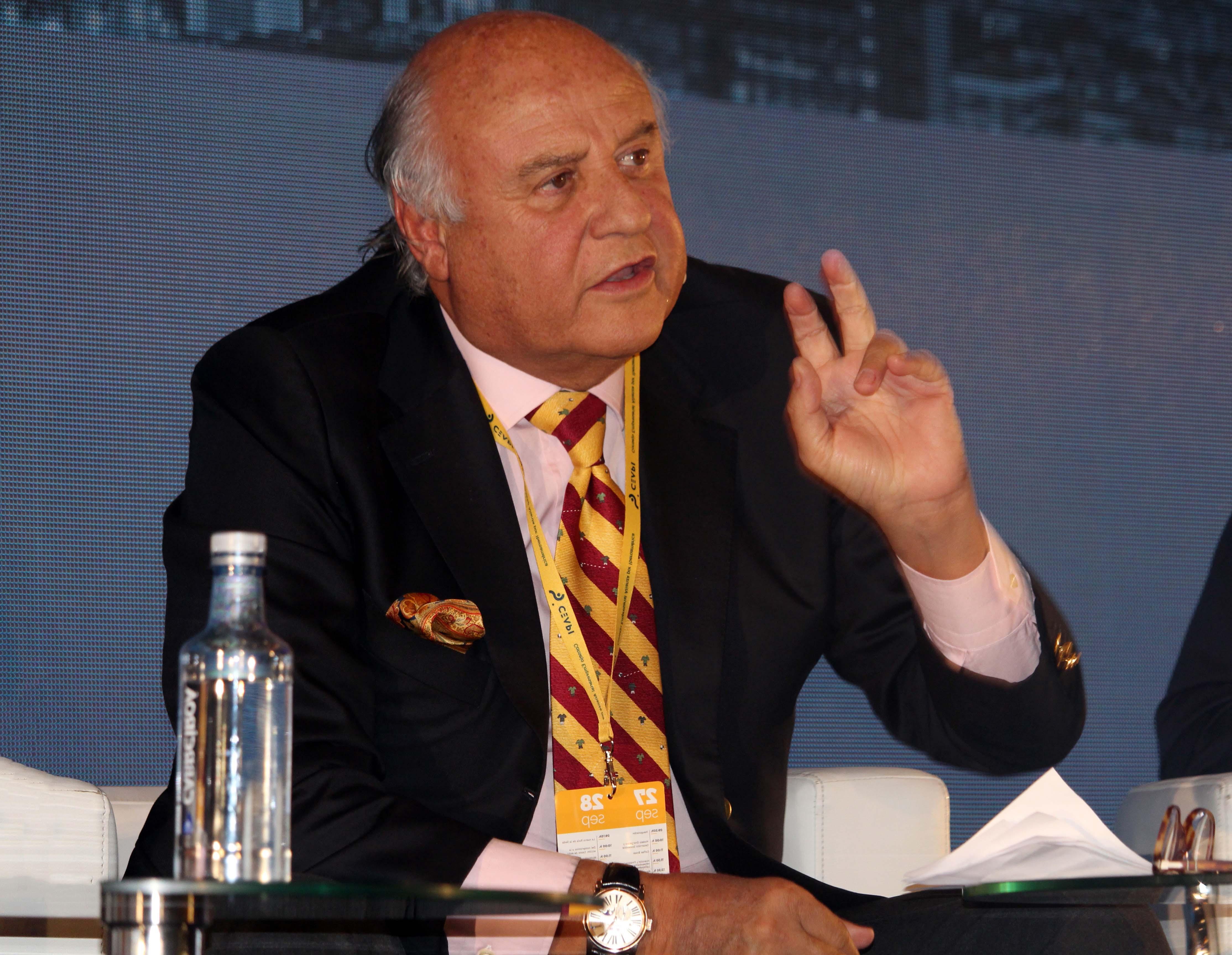 Jorge Massa durante su intervención.