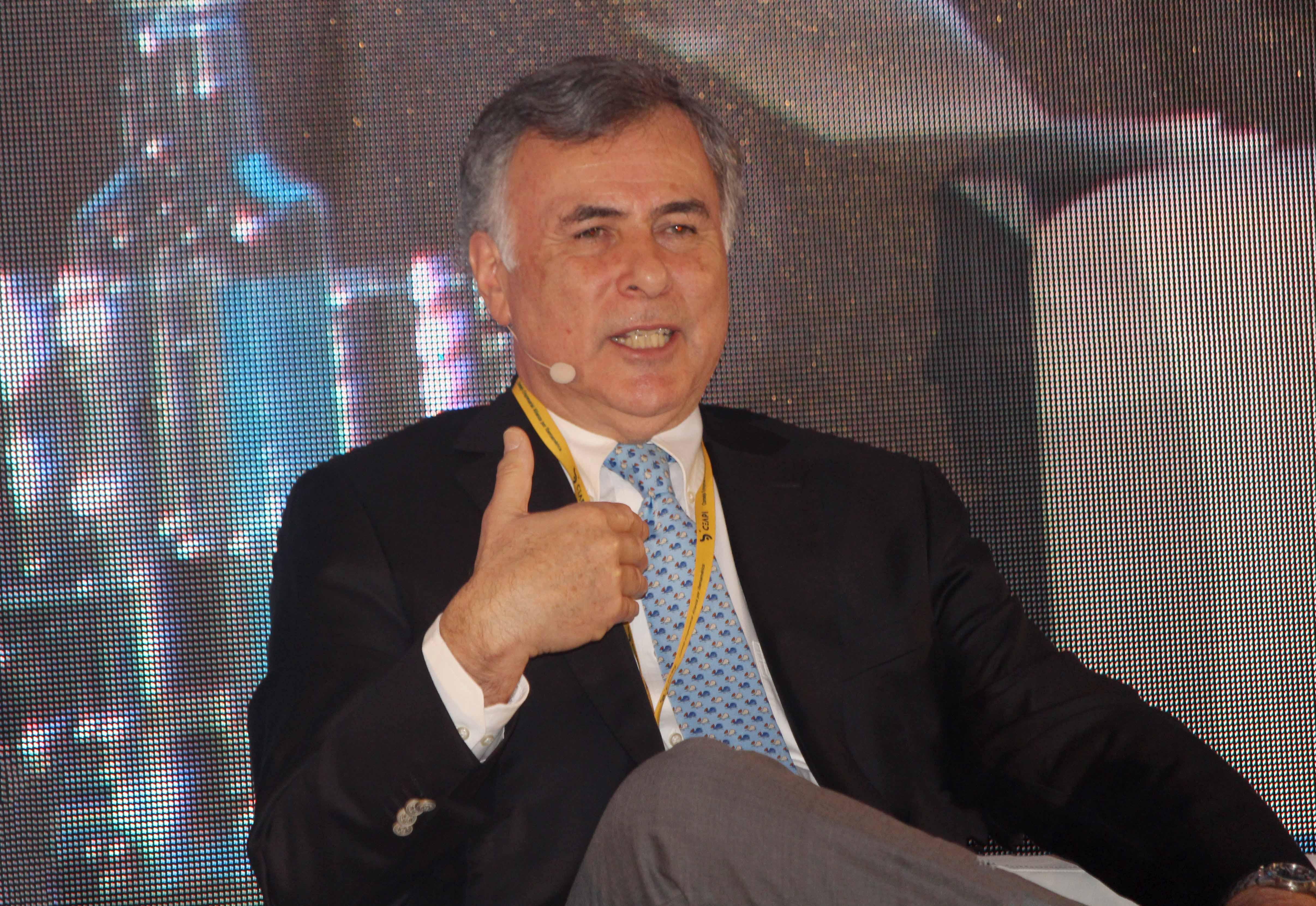 Mario Pavón durante su intervención.