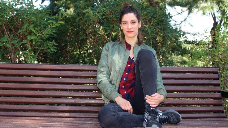 Ana Cela, médico de familia que abandonó la profesión sanitaria por la interpretación.