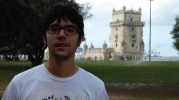 Jon Ander González, estudiante del quinto año de Medicina y candidato a la presidencia del Creup.