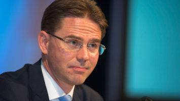El vicepresidente responsable de Fomento del Empleo, Crecimiento, Inversión y Competitividad, Jyrki Katainen.