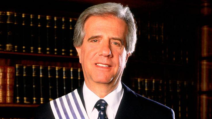El presidente de Uruguay, Tabaré Vázquez.