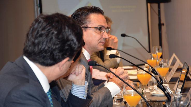 El presidente de Bancolombia, Juan Carlos Mora Uribe