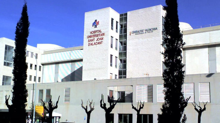 Hospital Universitario de Sant Joan de Alicante.