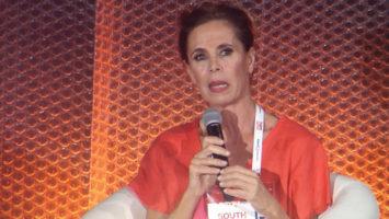 La diseñadora Agatha Ruiz De La Prada, durante su intervención en el evento South Summit 2017.