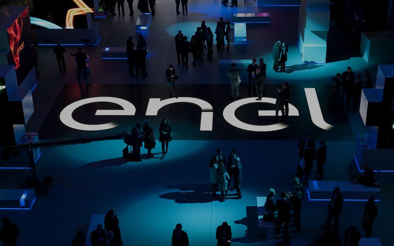 """Interior del evento """"Enel Is Open Power"""" Madrid 2016."""