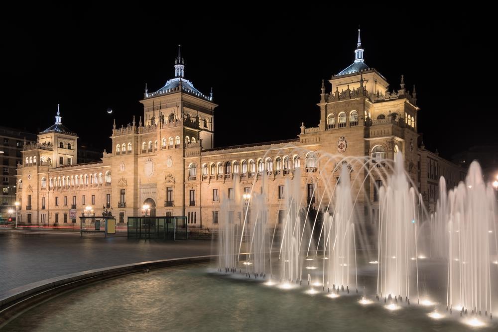 La Academia Militar de Caballería en Valladolid, España.