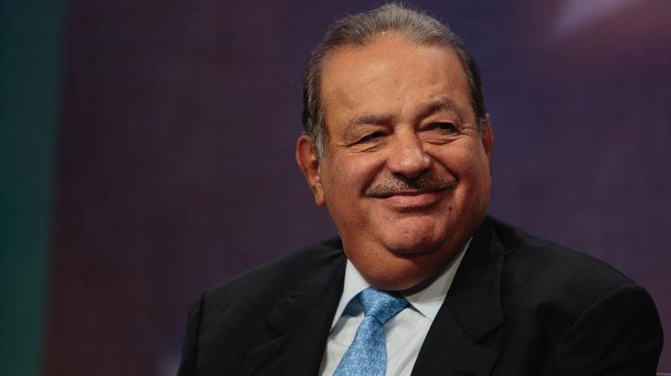 El empresario mexicano, Carlos Slim.