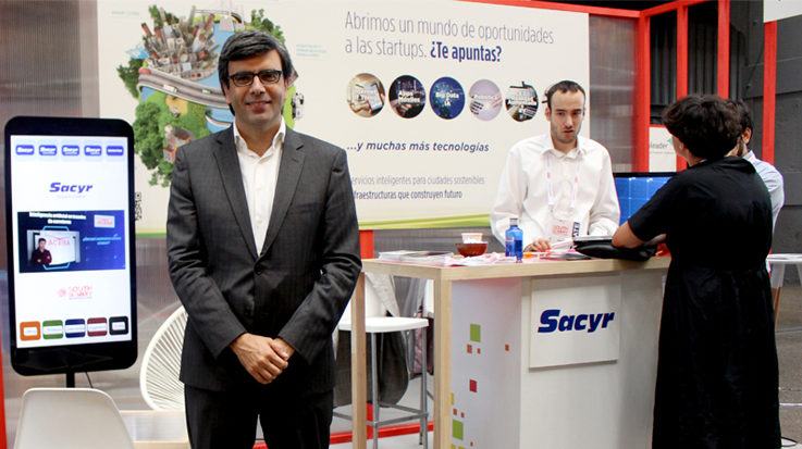 El jefe de Estrategia e Innovación de Sacyr, Diego Rocha.