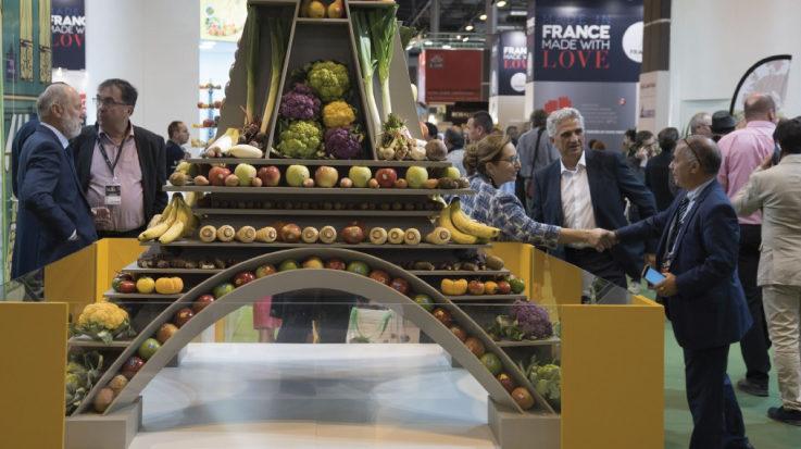 Imagen del evento Fruit Attraction en años anteriores.