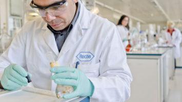 La farmacéutica Roche eleva sus ventas.