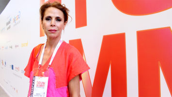 La diseñadora de moda, Ágatha Ruiz de la Prada.