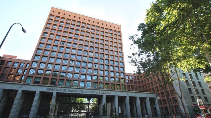 La sede del Ministerio de Sanidad.