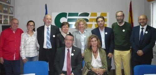 Los representantes del Foro de Médicos de Atención Primaria.