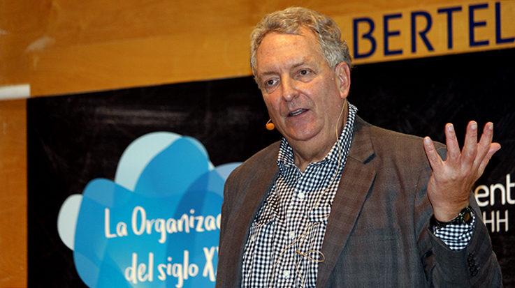 Dave Ulrich, experto norteamericano en la gestión de personal.