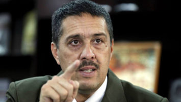Ramón Lobo, presidente del Banco central de Venezuela.