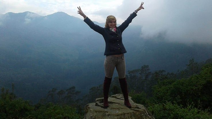 Laura Aires Cabada, inmigrante venezolana en Colombia.